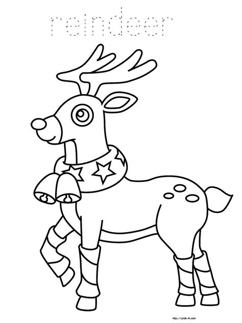 coloring pages of christmas reindeer reindeer christmas coloring pages coloring home
