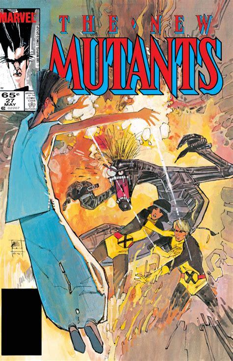 new mutants vol 1 1 new mutants vol 1 27 marvel comics database