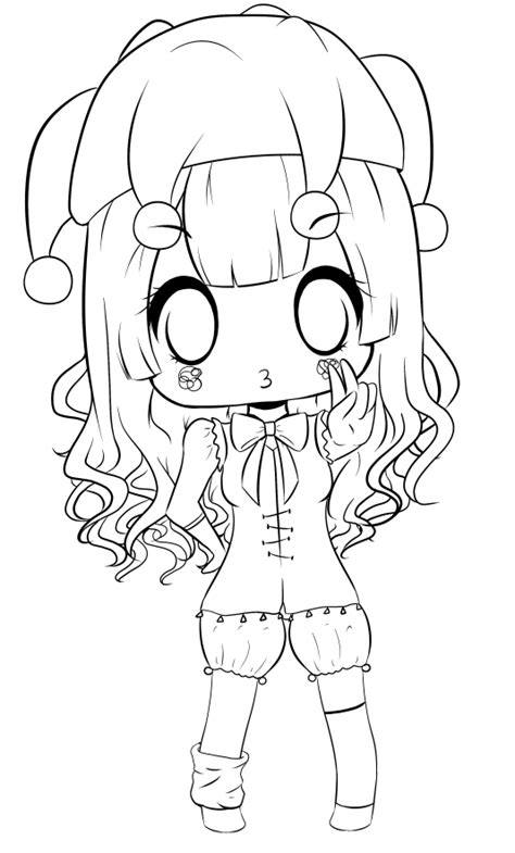 chibi minecraft coloring pages chibi lineart by duda baka chan on deviantart