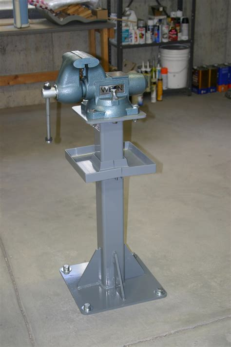 bench vice stand vise pedestal