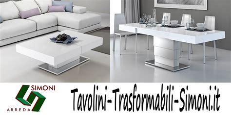 simoni arreda tavolini trasformabili simoni arreda tavolini