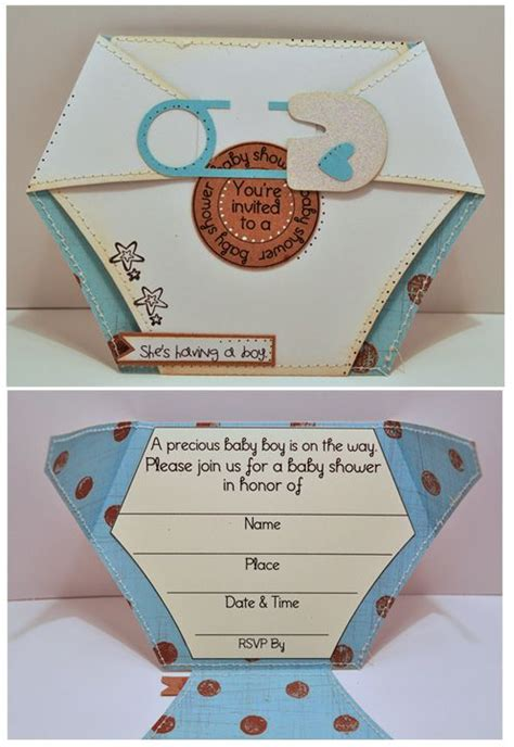 25 best ideas about diaper invitation template on