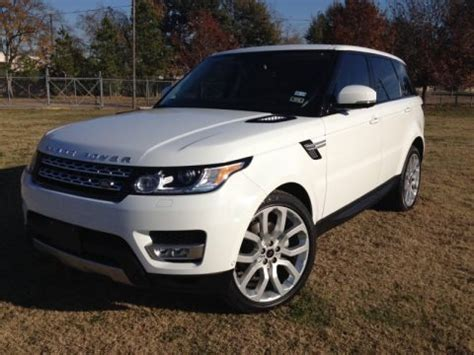 2014 range rover hse specs 2014 land rover range rover sport hse data info and specs