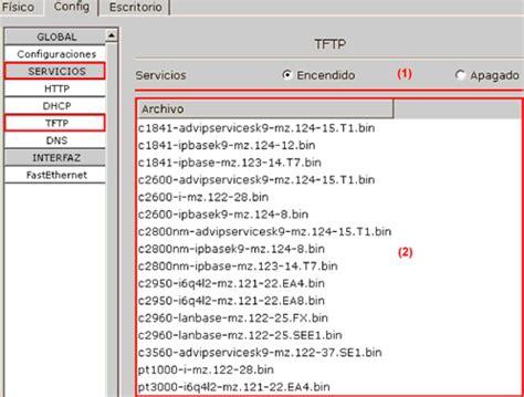 tutorial para usar cisco packet tracer configuraci 243 n de servidor http dhcp tftp y dns en packet