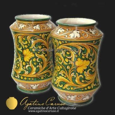 vasi in ceramica catalogo vasi caltagirone ceramiche di caltagirone