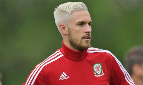 aaron ramsey bleaches hair for wales euro 2016 caign wales boss opens up about gareth bale after euro 2016