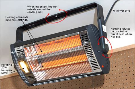 Radiant Garage Heaters by Quartz Overhead Radiant Heater Valley Tools