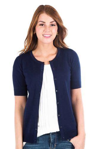 Debora Navy navy blue cardigan fashion sweater deborah co