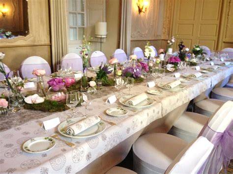decoration table poetic and beautiful wedding decoration in france
