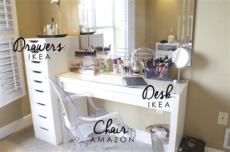 Vanity Setup by Vanity Set Up Storage Organization Giveaway