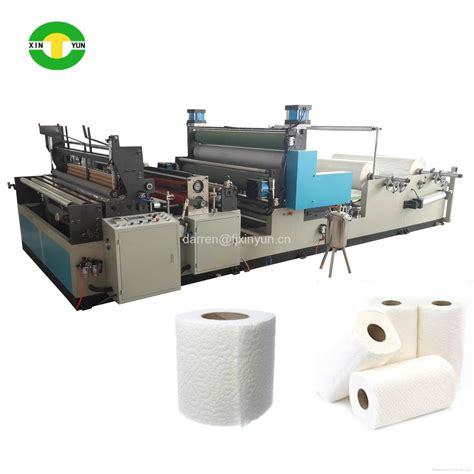Paper Equipment - 1575mm automatic rewinding tissue kitchen towel paper roll