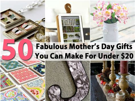 50 fabulous mother s day gifts you can make for under 20 diy crafts