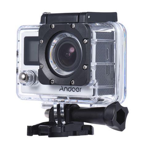 Waterproof 30m andoer 4k 30fps 1080p 60fps hd 16mp
