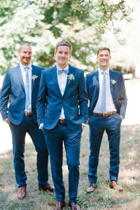 Romantic Washington Island Wedding   Blue ties, Blue roses
