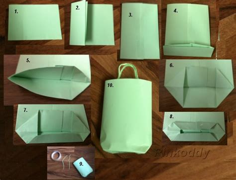 How To Make Paper Bags Step By Step - treat bags pinkoddy s