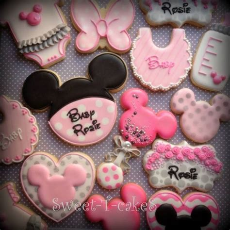 Minnie And Mickey Mouse Baby Shower by Minnie Mouse Baby Shower Cookies Baby Shower Cookies