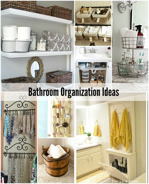 organization ideas bathroom organization tips the idea room