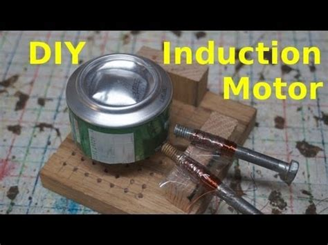 diy 3 phase induction generator home made induction motor