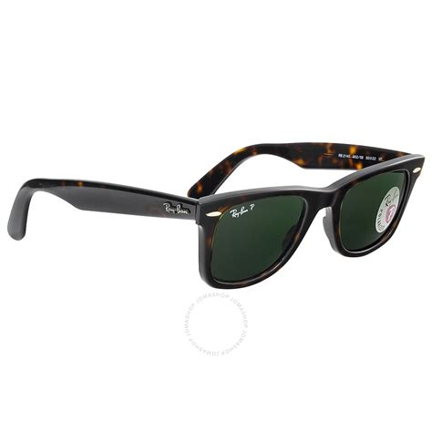Rb Wayfarer Atlanta 1 ban original wayfarer tortoise polarized 50mm sunglasses rb2140 902 58 50 22 wayfarer