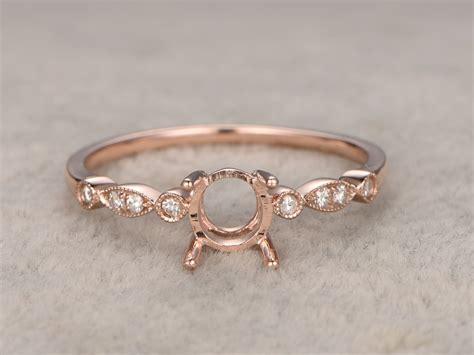 Ring Settings by Vintage Engagement Ring Settings White Gold Bbbgem