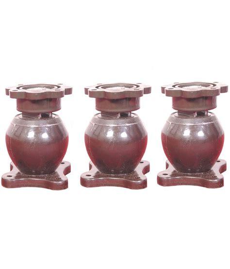 buy home impressions brown solid door magnet catcher set