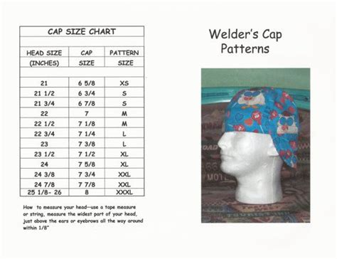 welding cap sewing pattern free image collections craft 17 best images about sewing welding caps on pinterest ux