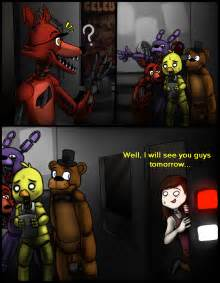 Fnaf x reader chapter 3 last time the animatronics went back to their