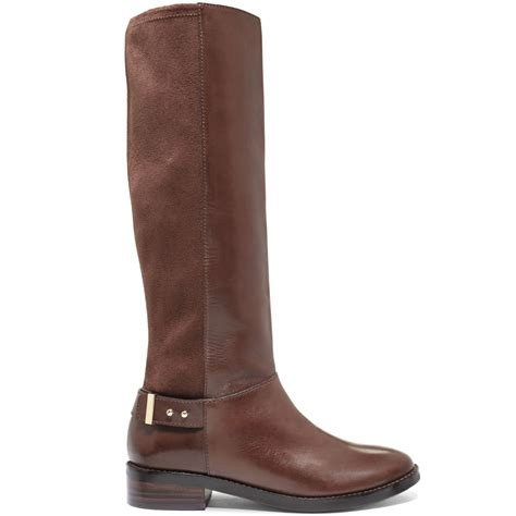 cole haan adler boots in brown chestnut lyst
