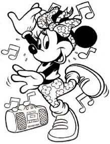 gratis minnie mouse kleurplaten voor kinderen 1