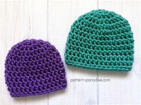 free pattern hat free crochet pattern easy preemie hat pattern paradise