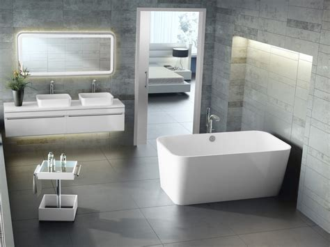 modern bathroom appliances all home design ideas best nice bathroom ideas with contemporary white freestanding