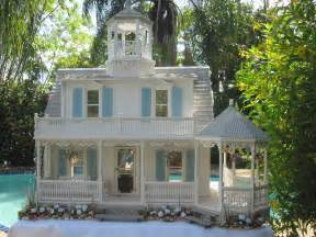 Two Story House Plans With Wrap Around Porch dollhouses by robin carey the sea glass victorian cottage