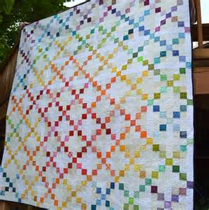 super scrappy single irish chain quilt favequilts com