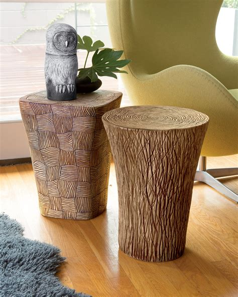 large ceramic table ls stump and woven tables by larry halvorsen ceramic side