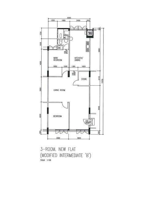 hdb flat floor plan butterpaperstudio reno clementi2 a 3 room hdb floor plan