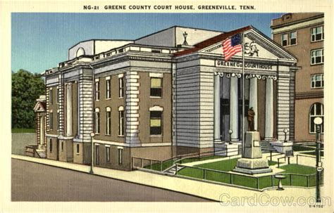Greene County Tn Court Records Greene County Court House Greeneville Tn