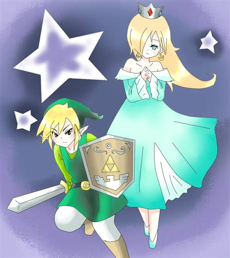 Princess Bedroom Ideas Commission Rosalina And Link By Mi Chan4649 On Deviantart