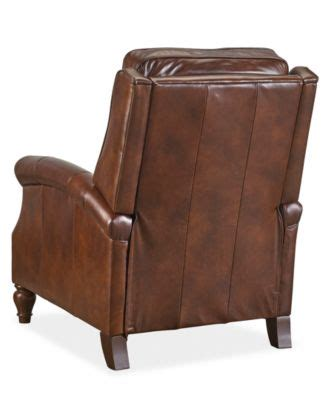 top rated leather recliners leeah leather pushback recliner latest top rated
