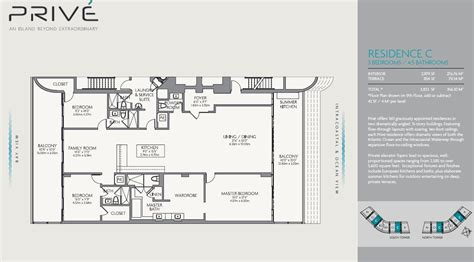 Prive Condo Floor Plan | prive condo williams island 5000 island estate dr 33180
