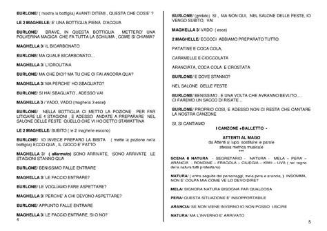 testo teatrale comico la frutta e le 4 stagioni testo teatrale in musica per