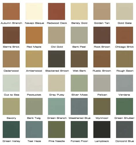 Rustic Paint Colors | rustic colors decorating ideas paint colors pinterest