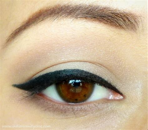 tutorial eyeliner simple indian vanity case easy cat eyeliner tutorial
