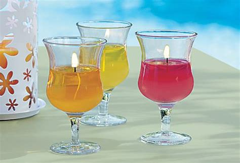 splash of color hours happy hour votive trio shapely stemmed glass holders