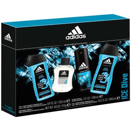 adidas ice dive mens cologne gift set  pc walmartcom