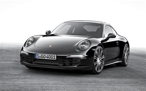 porsche black porsche 911 boxster black editions announced with 2016