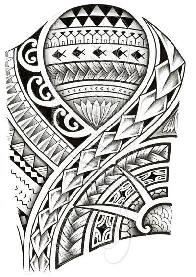 polynesian 3 4 sleeve 01 a by dfmurcia on deviantart