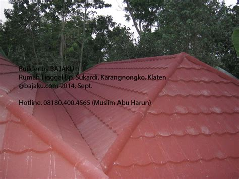 Genteng Multiroof Yogyakarta baja ringan dan genteng metal solusi atap bangunan ringan baja ringan yogyakarta jogja