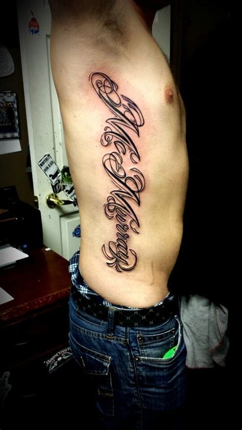 tattoo care on ribs last name rib piece tattoo tattoos by olivia alden