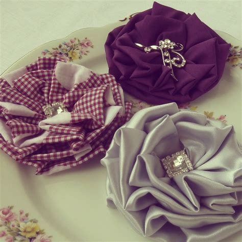 9 best images about fabric flowers on pinterest budget