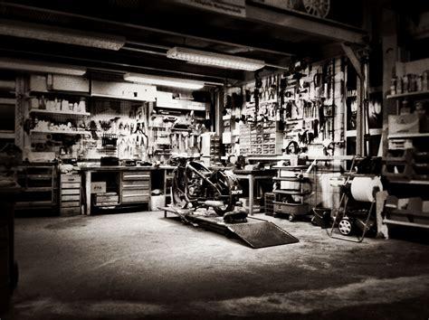 Motorrad Haus by Custom Garage Hopf Engineering Home Workshop